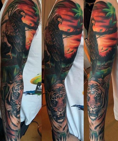 Tatuajes Para El Brazo Completo Fabulous Tatuajes Brazo Entero