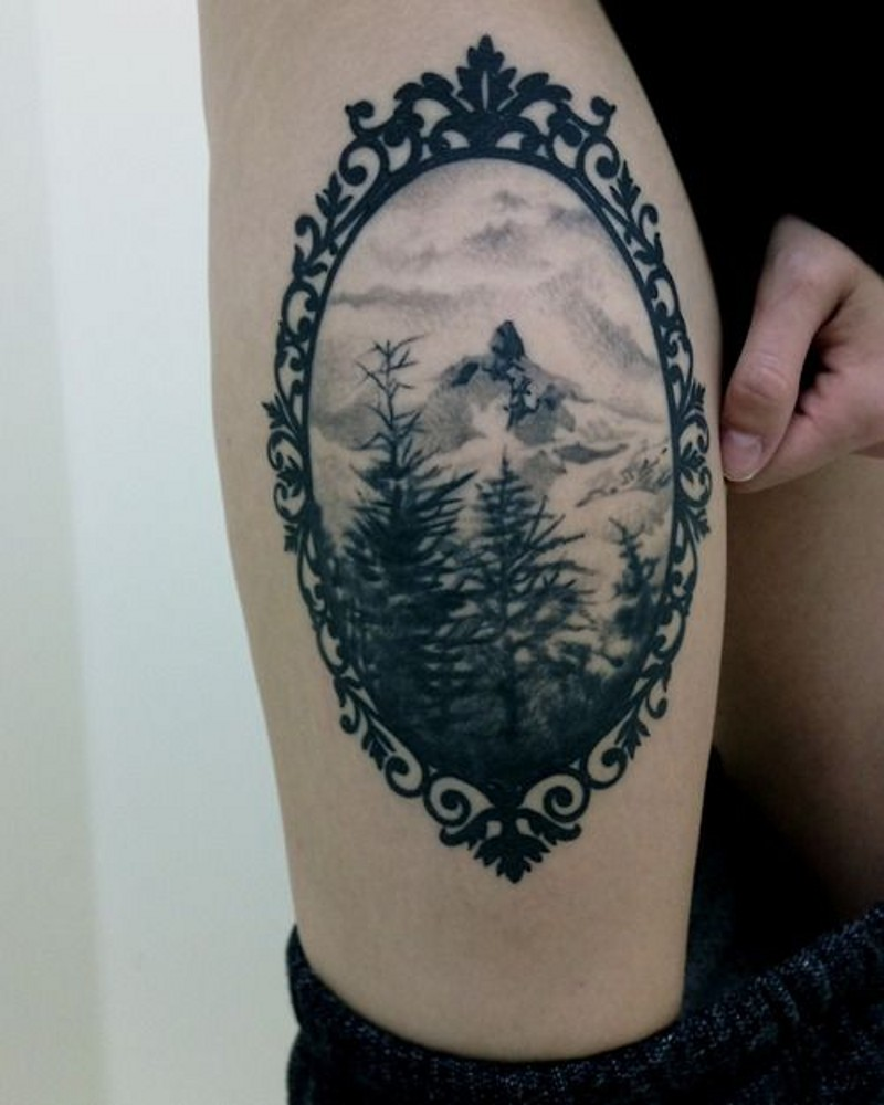 Famoso Tatuajes Marco Adorno - Ideas Personalizadas de Marco de ...